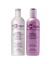 ApHogee Balancing Moisturizer And Two Step Protein Treatment Twin Pack