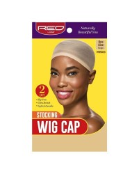 RED By Kiss Stocking Wig Cap 2pc - Black (HWC01)