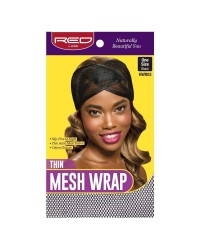 RED By Kiss: Thin Mesh Wrap - Black (HWR03)