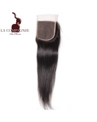 CLOSURE BRESILIENNE LISSE RAIDE