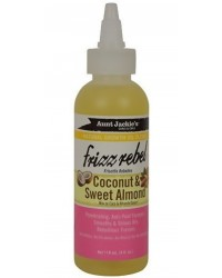 Aunt Jackies Frizz Rebel With Cocount Sweet Almond Oil 118 ml No Colour