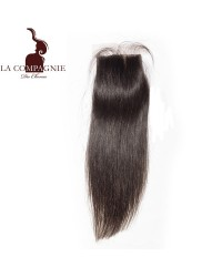 SILK BASE CLOSURE BRESILIENNE LISSE RAIDE