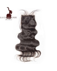 SILK BASE CLOSURE BRESILIENNE VIERGE ONDULEE