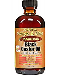 Mango lime Jamaican Black Castor Oil4oz