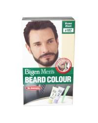 Bigen Mens Beard - Brown Black 102