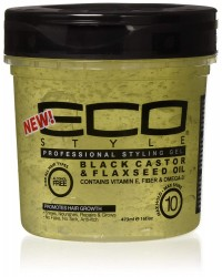 Ecoco Styling Gel - 8oz Black Castor Oil (117BC)