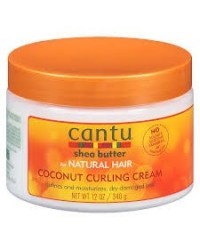 Cantu shea butter Coconut Curling Cream- 12 oZ- 340g