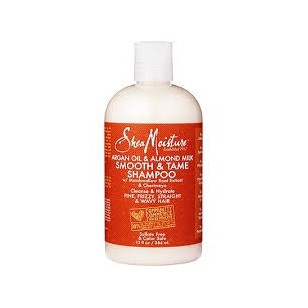 Shea Moisture Shampooing Smooth & Tame argan amande 384ml