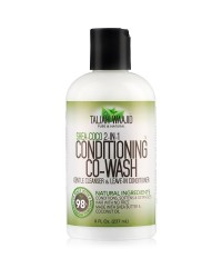 Shea coco 2 in 1 Gentle cleanser and Leave in conditioner Taliah Waajid 8oz-237ml