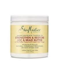 Shea Moisture Jamaican Black Castor Oil loc braid Butter 384ml
