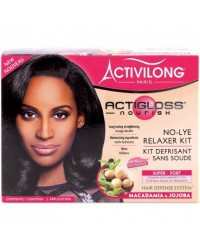 Activilong No lye relaxer Macadamia Jojoba kit super
