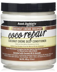 Aunt Jackie Coco Repair Coconut Creme Deep Conditioner 426 g