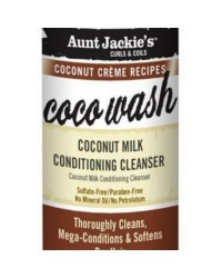 Aunt Jackie Coco Wash Coconut Milk Conditioning Cleanser 355 ml
