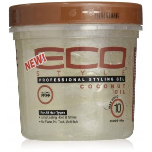 Ecoco Styling Gel - 8oz Coconut Oil (113COC)